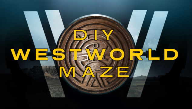 Making the Westworld Maze Game (Prop)