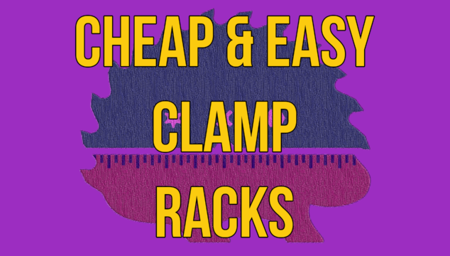 Making Cheap and Easy Clamp Racks