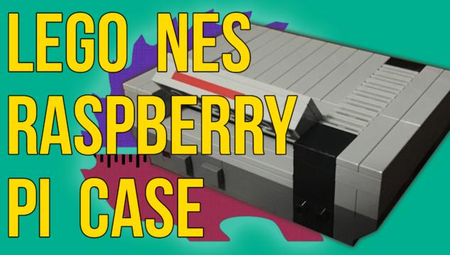 Lego NES Raspberry Pi Case